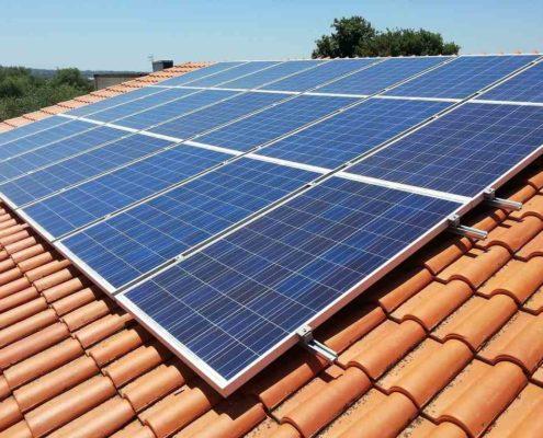 Scovolo dissuasore piccioni fotovoltaico